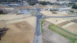 125号バイパス工事(寺具) 2020年3月の進捗様子